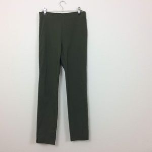 Who What Wear Green Stretch Ankle Legging Pant